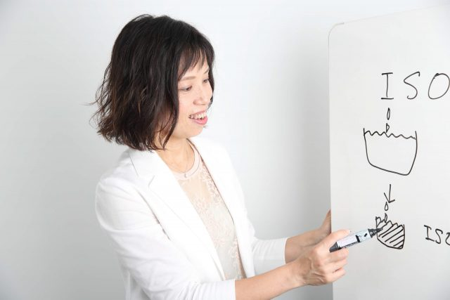 山﨑 明子 授業風景