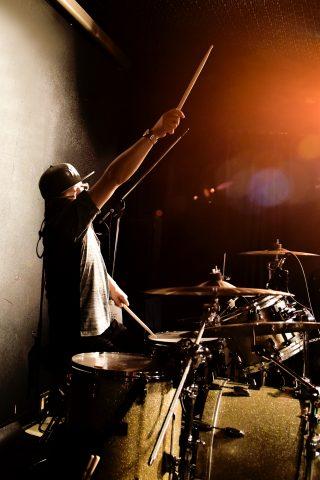 【ライブ写真】Drummer